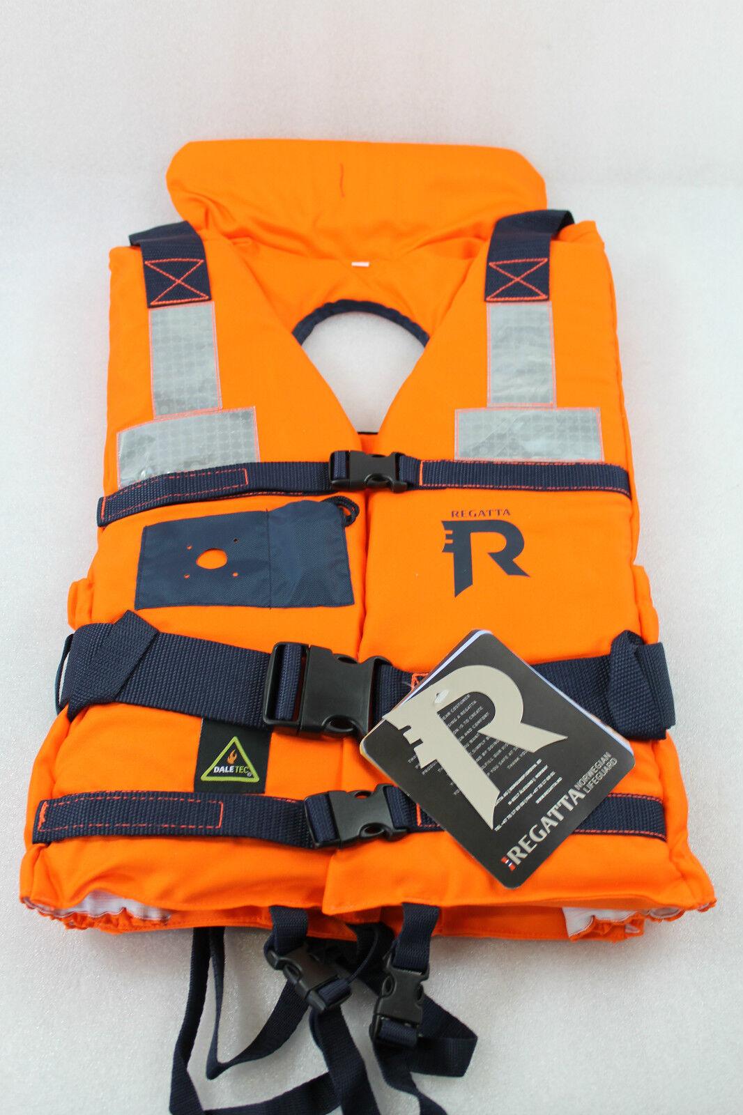 Regatta Schwimmweste Arbeits- Arbeits- Arbeits- und Rettungsweste, 70+ kg, Reflektorstreifen NEU  | Garantiere Qualität und Quantität  1b8796