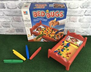 Vintage-1985-Bed-Bugs-Game-MB-Games-Full-Working-Order-Few-Missing-Bugs