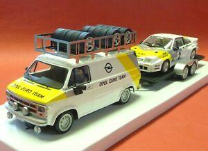 Slotcar-OPEL-Blitz-Anhaenger-Manta-in-1-32-auch-fuer-Carrera-Evolution-AVRS