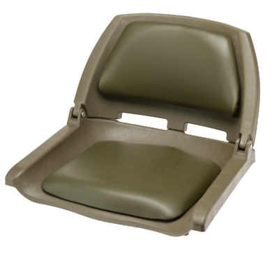 High Back Fold Down Boat Seat 2-Pack Pontoon Boating Fishing Gray//Charc Tax Incl