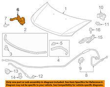 HONDA OEM 11-13 Odyssey Hood Lock Latch 74120TK8A11 74120-TK8-A11