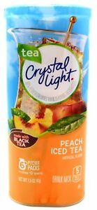 12-12-Quart-Canisters-Crystal-Light-Peach-Iced-Tea-Drink-Mix