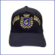 Berretto Cap Baseball Guardie Giurate GPG Scritta e Logo Ricamato Art.NSD-GG-CA