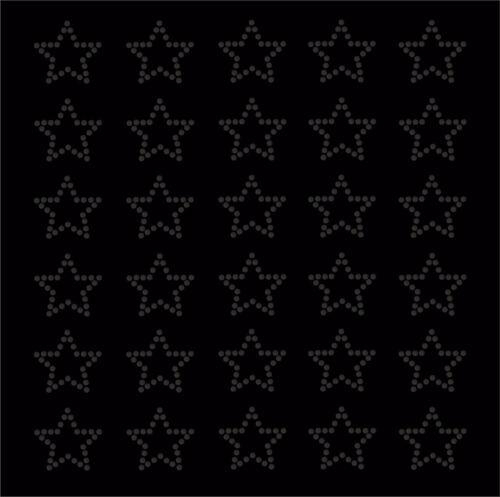 30 Estrás Estrellas Hierro-en la transferencia de Diamante Cristal Piedra Bling Motivo De Adorno