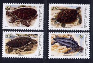 Marshall-Inseln-2011-Schildkroeten-Turtles-Meerestiere-Postfrisch-MNH