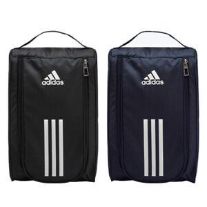 Adidas Football Boot Shoe Bag Linear Core Shoebag Gym Sports Bags Small Black
