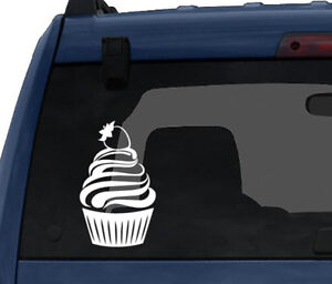 Cute-Cupcake-3-Strawberry-Whipped-Ice-Cream-Topping-Car-Tablet-Vinyl-Decal