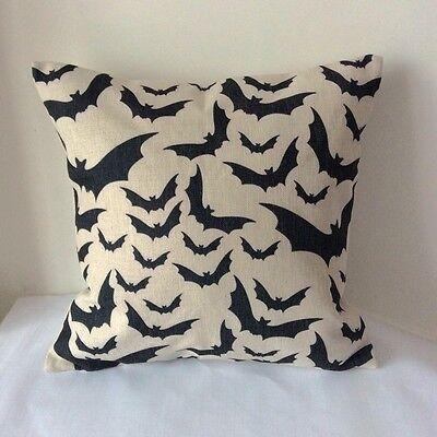 Vintage Bats Animal Cotton Linen Throw Pillow Cushion Cover For Home Decor Z60