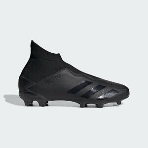 Adidas-Enfants-Garcons-Predator-20-3-Laceless-Junior-FG-Chaussures-De-Football-Ferme-Sol