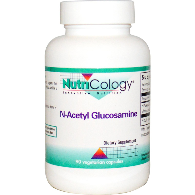 NEW NUTRICOLOGY N-ACETYL GLUCOSAMINE SUPPLEMENTS INNOVATIVE NUTRITION 90 VCAPS