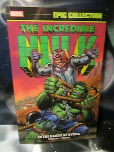 Incredible Hulk In The Hands of Hydra Marvel Epic Collection