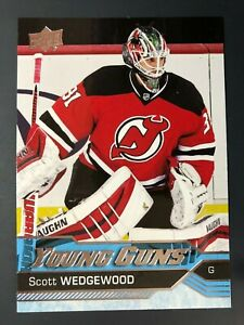 2016-17-Scott-Wedgewood-UD-Young-Guns-Rookie