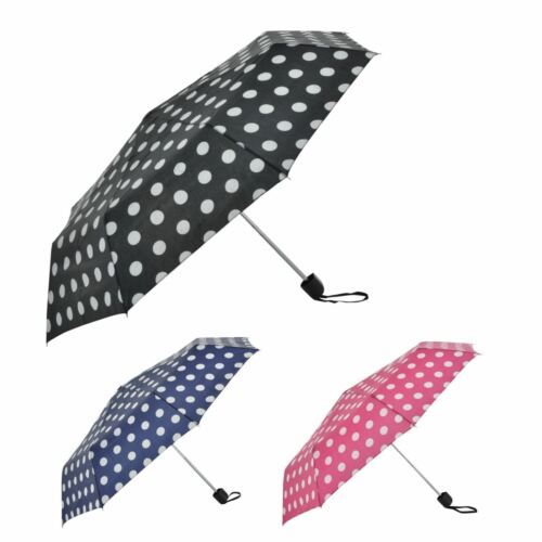 Laltex Ladies Womens Outdoor Penny Spot Spotty Umbrella S//Mini