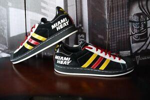 Details about 2006 Adidas Superstar 1 Lo Black suede Miami Heat NBA Edition Mens Sz US 13