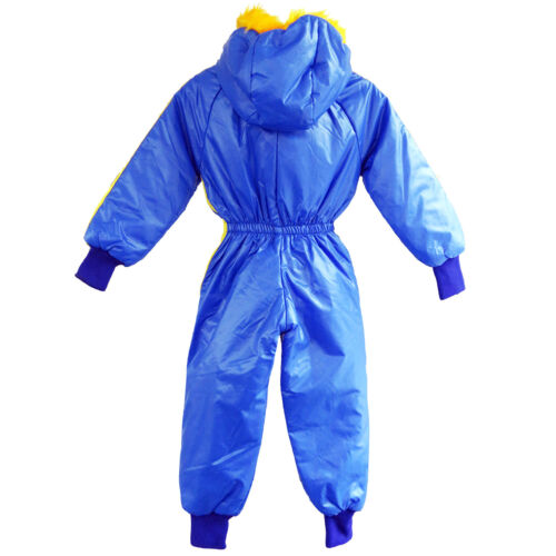 KIDS WATERPROOF WINTER RAINSUIT BOYS GIRLS ALL IN ONE SUIT PUDDLE SUIT RRP £30
