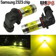 100W 9005 9006 Samsung 2323 LED High Power 4300K Yellow Fog/Driving Lights Bulbs