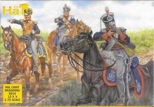 HaT-HaT-Napoleonic-Wars-KGL-Light-Dragoons-1-72-Scale-25mm