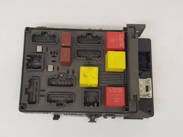 Renault Espace Iv 2005 Lhd 3 5 Petrol Fuse Box And Fuses
