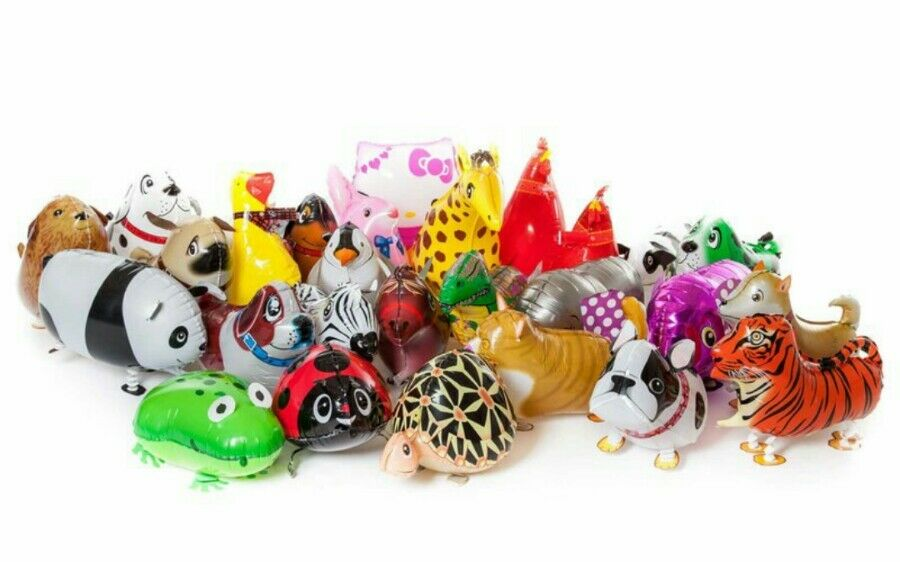 50 x Walking Pet Animal Ballons Business Start Up Add on for sale