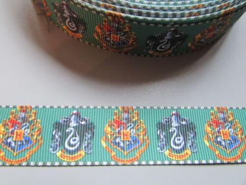 Hogwarts Harry Potter Grosgrain Ribbon 2.2cm  x 1 Metre  Sewing//Crafts//Cake