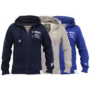 Mens-Hooded-Fleece-Lined-Top-Sweatshirt-By-Crosshatch