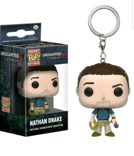 Uncharted Nathan Drake Pocket Pop Keychain new