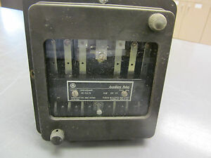 image is loading ge general electric auxiliary relay 12hfa151a4f type hfa