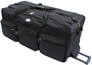 Image Is Loading Large 42 034 Rolling Wheeled Duffel Bags Luggage