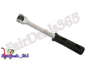 HEAVY-DUTY-1-4-INCH-DRIVE-FLEXIBLE-SOCKET-HANDLE-RATCHET-WITH-BLACK-SOFT-GRIP