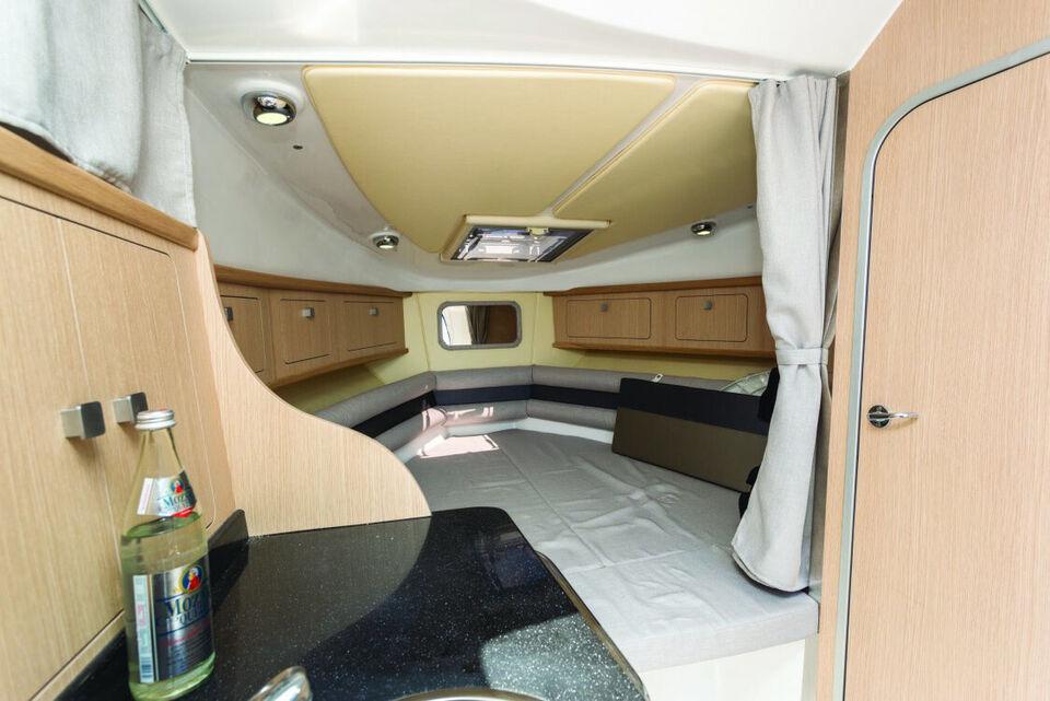 Ny Saver 830 Cabin med 250HK Mercruiser