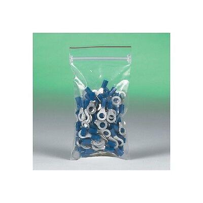 "4/""/""x8/""/"" /""Minigrip 4 Mil Reclosable Poly Bags Clear 1000//Case/"""