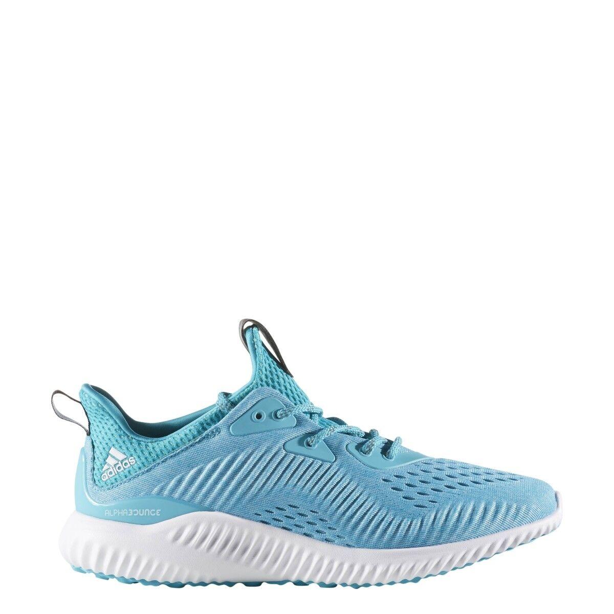 Zapatilla de em running mujer adidas AlphaBounce em de luz azul / blanco cb7752