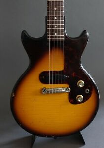 epiphone olympic electric guitar 1963 vintage melody maker ebay. Black Bedroom Furniture Sets. Home Design Ideas