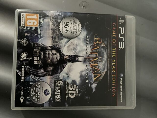 Batman Arkham Asylum GOTY Edition ps3 Playstation 3 Videospiel neuwertig