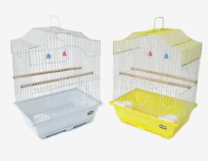 Heritage-Cages-Corfe-Budgie-Finch-Bird-Cage-30x23x39CM-Budgies-Canary-Small-Food