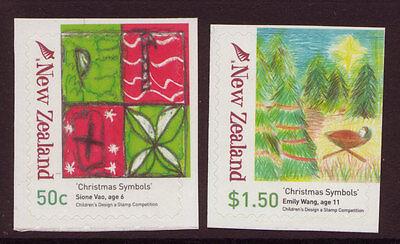 Australien, Ozean. & Antarktis Neuseeland Symbol Der Marke Neuseeland 2007 Christmas Broschüre Paar Perf 11.25 Nicht Gefaßt Postfrisch Warm Und Winddicht