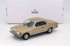 Mercedes-benz 280 CE c123 Coupe año de fabricación 1980 oro metalizado 1:18 norev