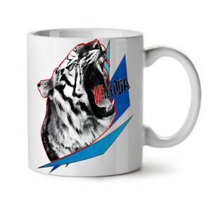 White Tiger Beast Animal NEW White Tea Coffee Mug 11 oz | Wellcoda