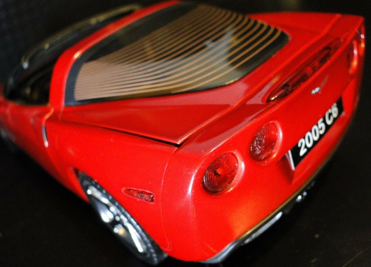 1 2005 Corvette Sport Race Car Car Car Vette Chevrolet 24 Model 18 Carousel Red 12 Built d37900