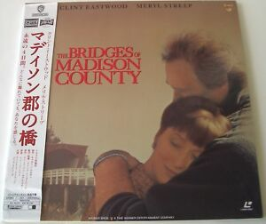 Japanese-2-Laser-Disc-The-Bridges-Of-Madison-County