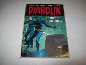 DIABOLIK-INEDITO-ORIGINALE-ANNO-XL-40-numero-1-N-1-IL-LADRO-INVISIBILE-BELLISSMO