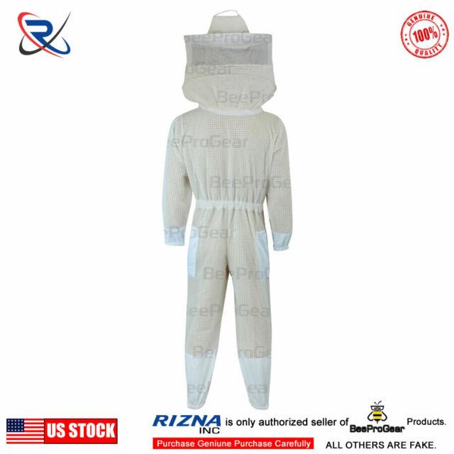 3 layers Ultra Ventilated beekeeping beekeeper Ful Suit Fancy Veil 2XL