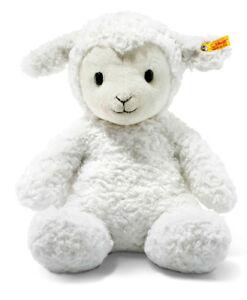Steiff Doux Câlin Amis Fuzzy Lamb Lavable Ours En Peluche - 38cm Ean 073434