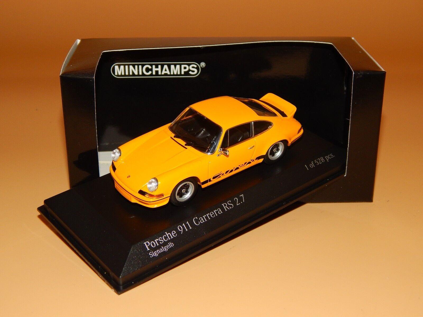 Porsche 911 Carrera RS 2.7 (930) 1973 signalgelb 400065522 de Pma 1/43 neuf dans sa boîte   D'être Très Apprécié Et Loué Par Les Consommateurs