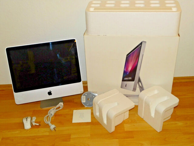 "Apple iMac 20"" in OVP, 250GB HDD, IntelCore 2 Duo 2,4GHz, 4GB RAM, 2J. Garantie"