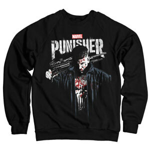 96294224f Marvel's The Punisher Blood Official Licensed Unisex Sweatshirt All ...