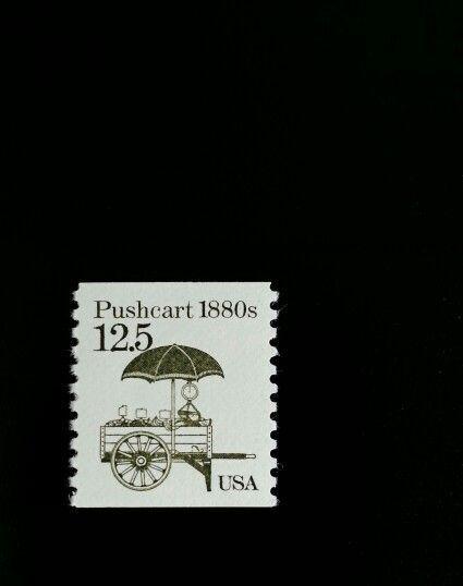 1985 12.5c Pushcart, Coil Scott 2133 Mint F/VF NH