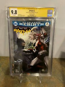 Batman-1-CGC-SS-9-8-Signed-by-Stanley-034-Artgerm-034-Lau