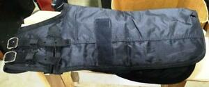 New-Dog-Coat-Blanket-Waterproof-Miniature-Horse-Foal-Size-Med-Black-Leg-Straps