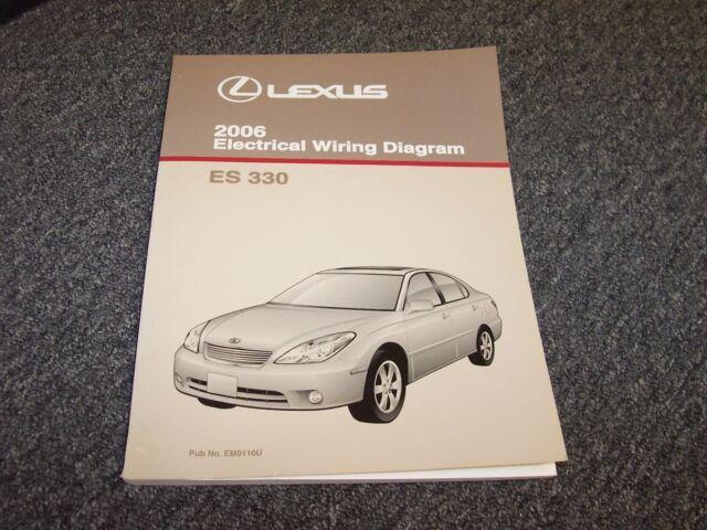 2006 Lexus Es330 Sedan Factory Original Electrical Wiring
